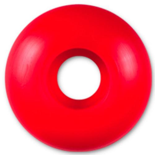 Steadfast Blank Red Skateboard Wheels - 52mm
