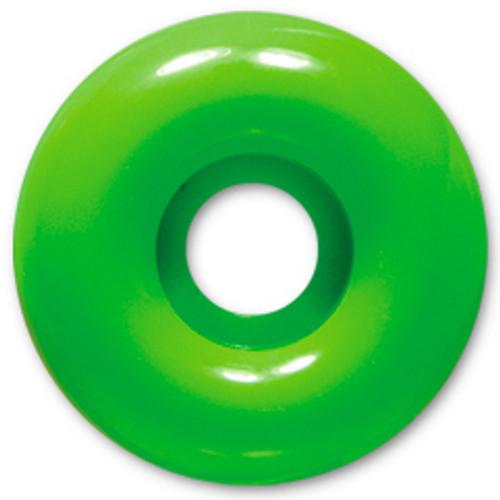 Steadfast Blank Neon Green Wheels - 52mm