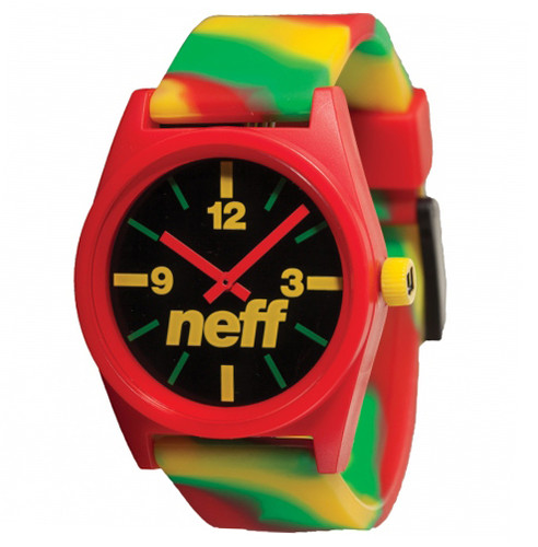 Neff Daily Wild Watch - Rasta Swirl