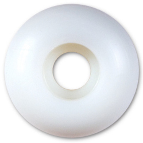 Steadfast Blank White Wheels - 50mm