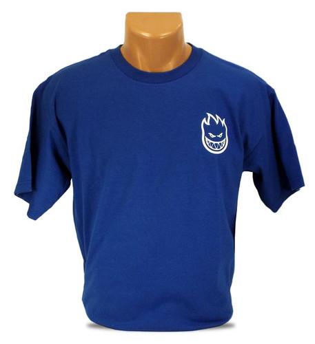 DCS x Spitfire O.G. T-Shirt - Royal Blue