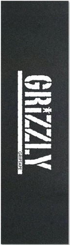 Grizzly Stamp Black/White Griptape Sheet