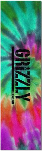 Grizzly Reverse Tie Dye Stamp Griptape Sheet