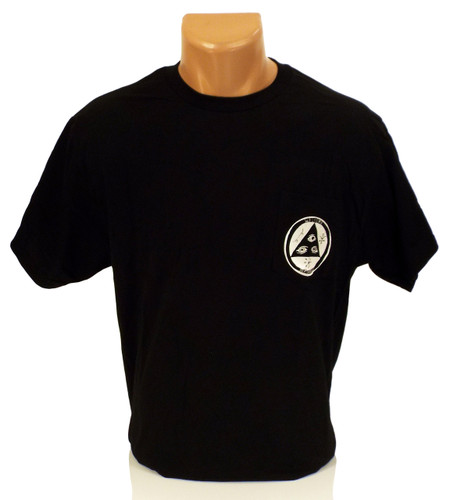 Welcome Talisman Pocket T-Shirt - Black/White