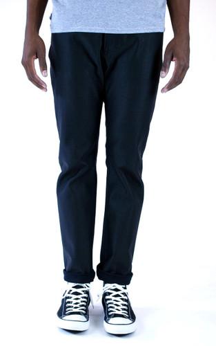 Kennedy Standard Raw Denim Jeans - Glazed Black