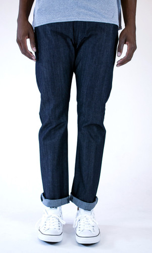 Kennedy Standard Raw Denim Jeans - Midnight Indigo