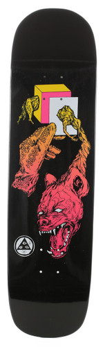 """Welcome Face Of A Lover On Yung Nibiru Black Dip Skateboard Deck -  8.25"""""""
