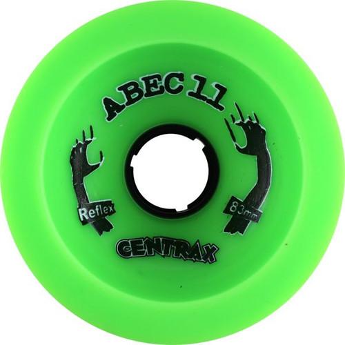 Abec 11 Classic Centrax Green Wheels - 77m 78a