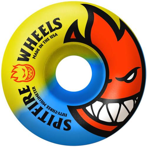 Spitfire Sunburn Swirl Skateboard Wheels - 52mm