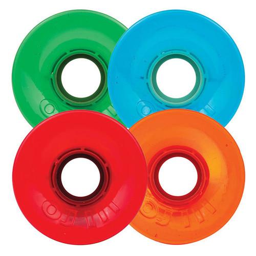OJ III Hot Juice Candy Trans Skateboard Wheels - 55mm