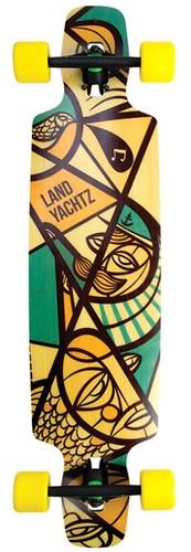 """Landyachtz Drop Carve 40 Nautical Longboard Complete - 9.3"""" x 40.35"""""""