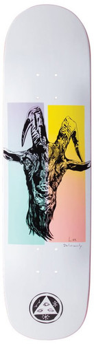 Welcome Phillip On Bunyip White Skateboard Deck - 8""
