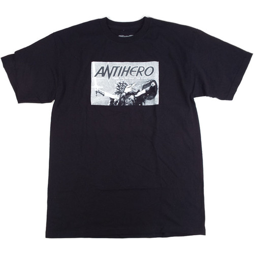 Anti-Hero There Be Only 1 8 T-Shirt - Black