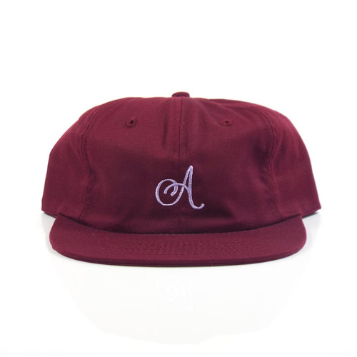 Alltimers Classic A Strap Hat - Burgundy