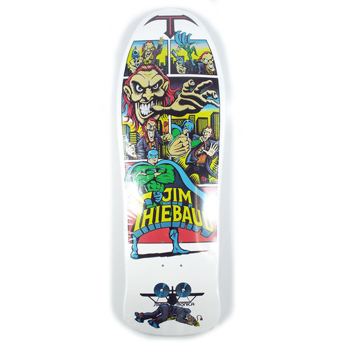 Santa Cruz Thiebaud Joker White Reissue Skate Deck - 10""