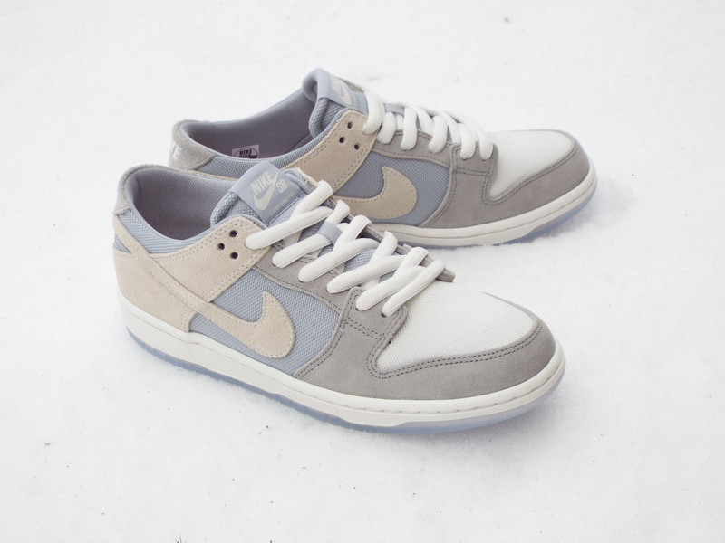 Nike SB Dunk Low Wolf Grey Shoes drops now.