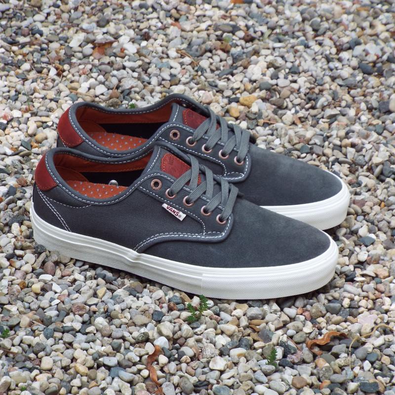 Vans Chima Ferguson Pro Gunmetal/Burnt Henna Shoes now available.