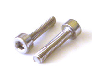 10 Socket Head Cap Screw 3mm x 14mm 18-8 Stainless Screws