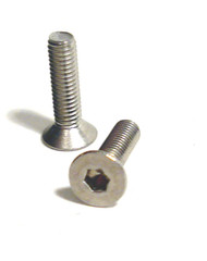 3mm x 12mm Stainless Steel Flat Head Cap Screw