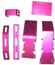 T-Maxx, E-Maxx, S-Maxx Hot Pink Aluminum package deal