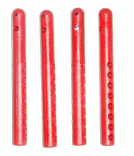 T-Maxx and E-Maxx Red Nylon Reinforced Body Mount Posts