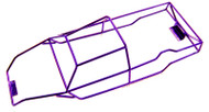 Revo 3.3  Candy Purple Powder Coated Full Roll Cage
