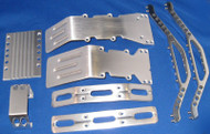T/E-Maxx super brushed billet aluminum package deal 2