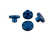 T-Maxx E-Maxx Blue Anodized Aluminum Knock Off Wheel H