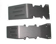 T-Maxx and E-Maxx Hard Anodized Skid Plate Set
