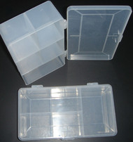 1 Large 5 Compartment Screw Kit Box ( Hobby Box )