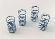 Traxxas Slayer and XO-1  Zinc Plated Silver Dual Rate Shock Springs Set