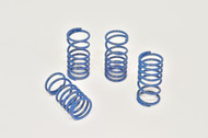 Traxxas Slayer and XO-1  Blue powder coated Dual Rate Shock Springs Set