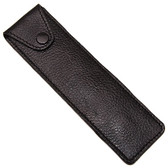Genuine Leather Protective/Travel Case for Straight, Shavette and Barber Razors - Felt Lined