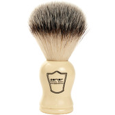 White Handle Vegan Shaving Brush