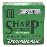 Sharp Half Blades - 100 Blades  (100 x 10)