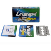 50 LASER Ultra Double Edge Safety Razor Blades with Triple Coated Edges!