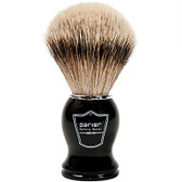 Parker Safety Razor 100% Silvertip Badger Bristle Shaving Brush (Black Handle)
