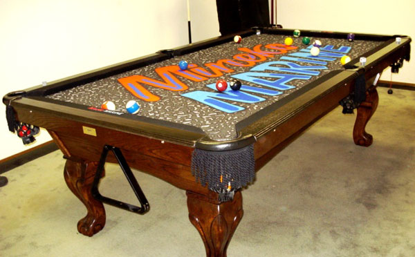 Marine Custom ArtScape Pool Table Felt