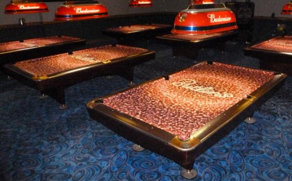 Billiards Custom ArtScape Pool Table Felt