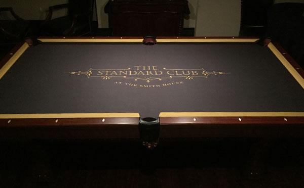 Exceptional The Standard Club Custom ArtScape Pool Table Felt