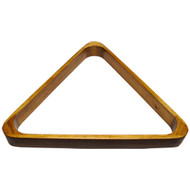 Deluxe Wood Pool Ball Triangle, Oak