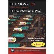 The Monk 101 DVD - The Four Strokes of Pool, Volume 1