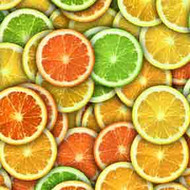 ArtScape Mixed Citrus Pool Table Cloth
