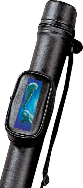 "Adrenaline ""Dolphin"" Pool Cue Case for 1 Cue"