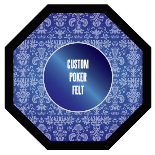 """Custom Poker Table Felt 48"""""""