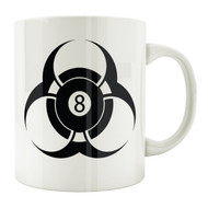 Biohazard 8-Ball 11oz. Coffee Mug