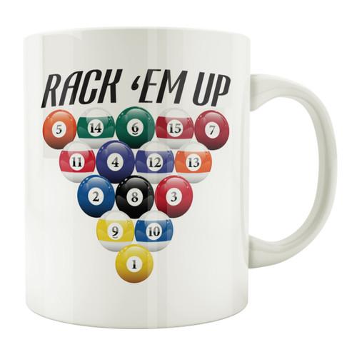 Rack 'Em Up 11oz. Coffee Mug