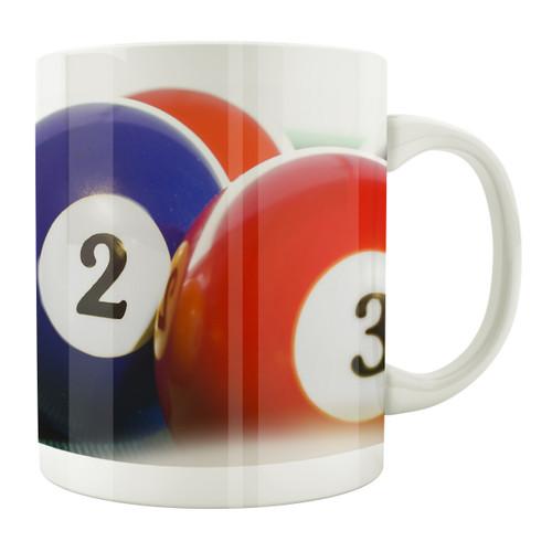 Billiard Balls 11oz. Coffee Mug