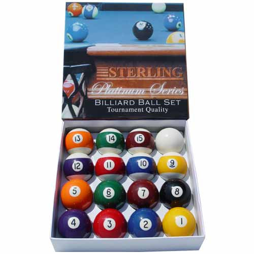 Sterling Deluxe Pool Balls