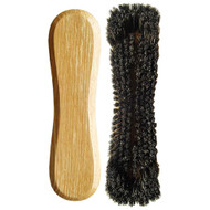 Standard 10-1/2 Horsehair Pool Table Brush, Oak
